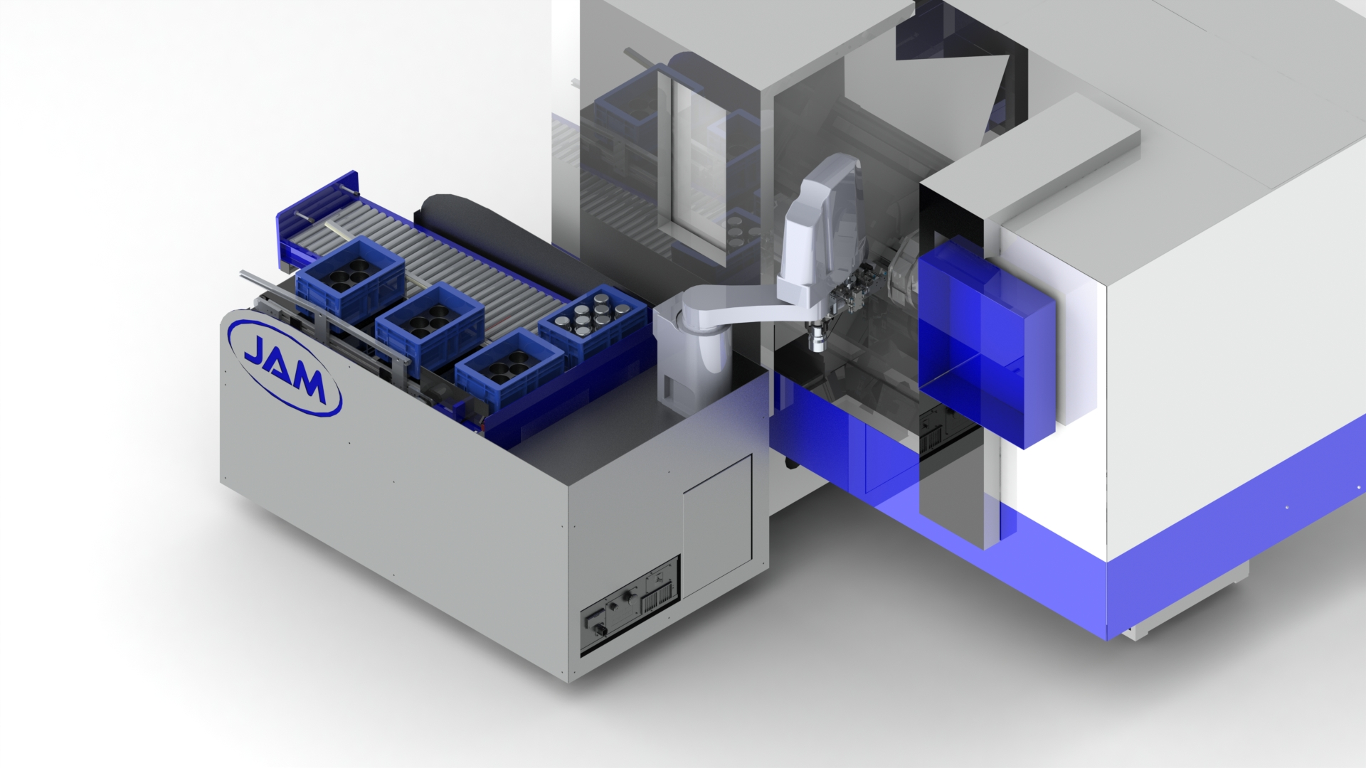 Kooperation zwischen JAM automation und Knuth Werkzeugmaschinen